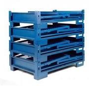 Boxpaleti metalici pliabili