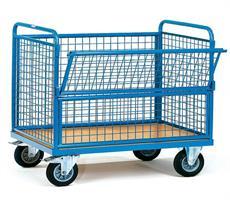 Carucioare transport marfa tip boxpalet mobil