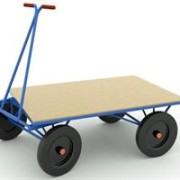 Carucior industrial pentru transport