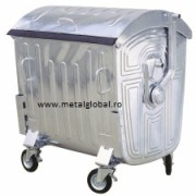 Container 1100 litri Metalic