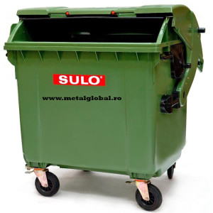 Container 1100 litri capac rotund
