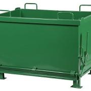 Container cu podea basculanta
