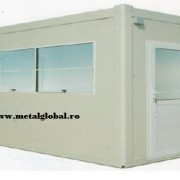 Cabina de paza cu grup sanitar 1