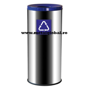 Cos de gunoi din material inoxidabil
