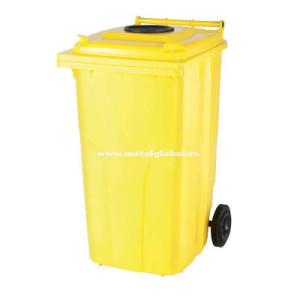 Pubela gunoi 240 litri colectare selectiva