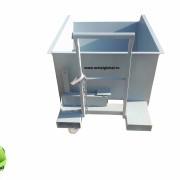 Container basculant cu roti 1